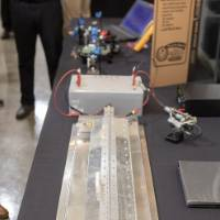 2018 Senior Design Project displayed at the School of Engineering